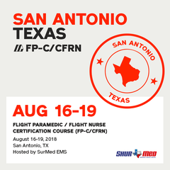 [Archive] Flight Paramedic Prep - Texas Aug 2018 - (FP-C/CFRN/CCP-C)