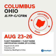Flight Paramedic Prep - Ohio Aug 2018 - (FP-C/CFRN/CCP-C)