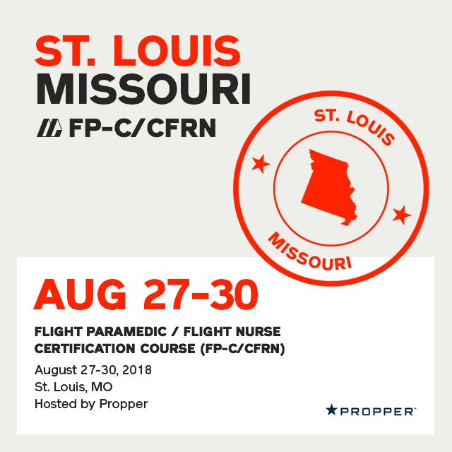 Flight Paramedic Prep - Missouri Aug 2018 - (FP-C/CFRN/CCP-C)