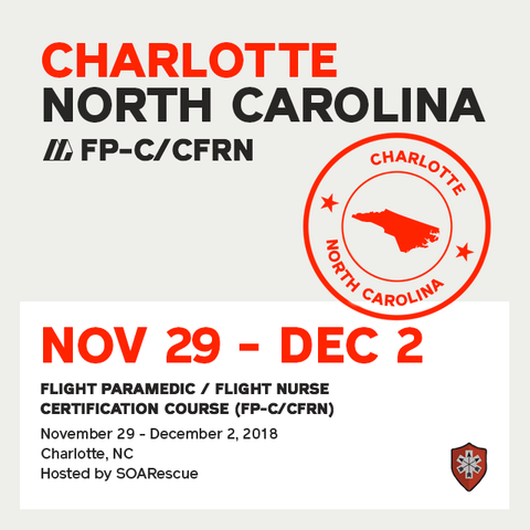 Flight Paramedic Prep - North Carolina Nov 2018 - (FP-C/CFRN/CCP-C)