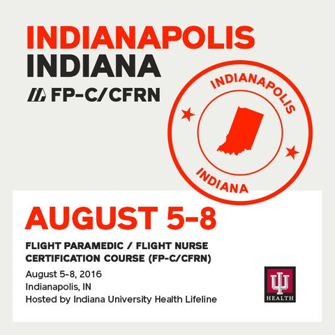 [Archived] Flight Paramedic Prep (Indiana) - FP-C/CFRN