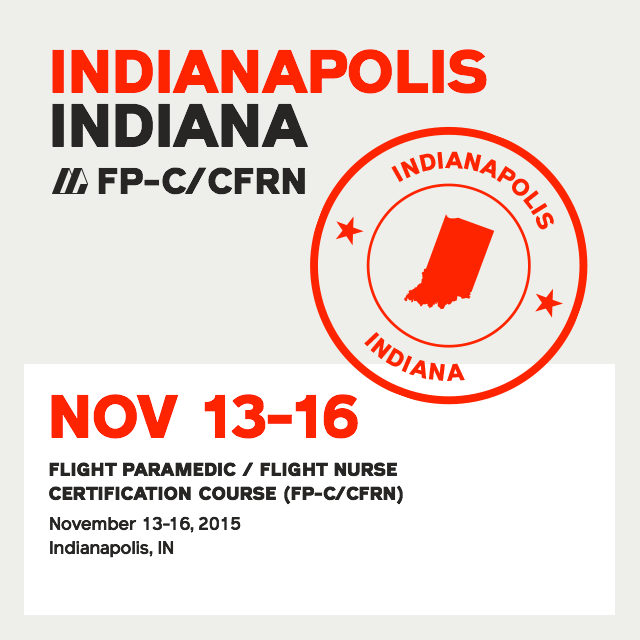 [Archived] Premier Flight Paramedic Prep (Indianapolis) - FP-C/CFRN