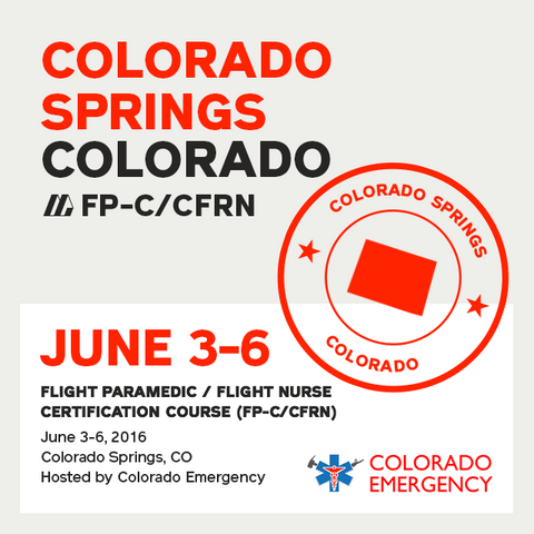 [Archived] Flight Paramedic Prep (Colorado) - FP-C/CFRN