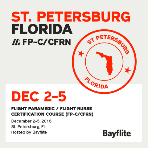 [Archived] Flight Paramedic Prep (Florida Dec 16) - FP-C/CFRN