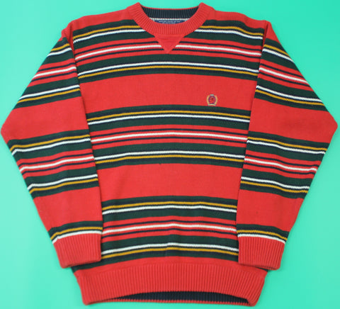 Tommy Hilfiger Multicolor Striped Knit Sweater: S