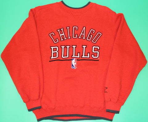 Chicago Bulls NBA Red Crewneck : M