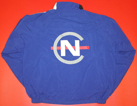 Nautica Competition Blue Windbreaker Jacket: XL
