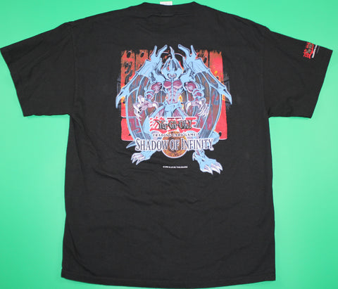 Vintage Yu-Gi-Oh Trading Cards Shadow of Infinity T-Shirt: M,L