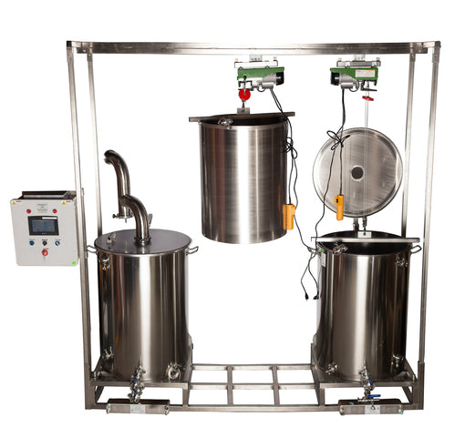 """Nano Brewer Dual"" Professional Brewing System 100, 200 and 300 gallon versions"