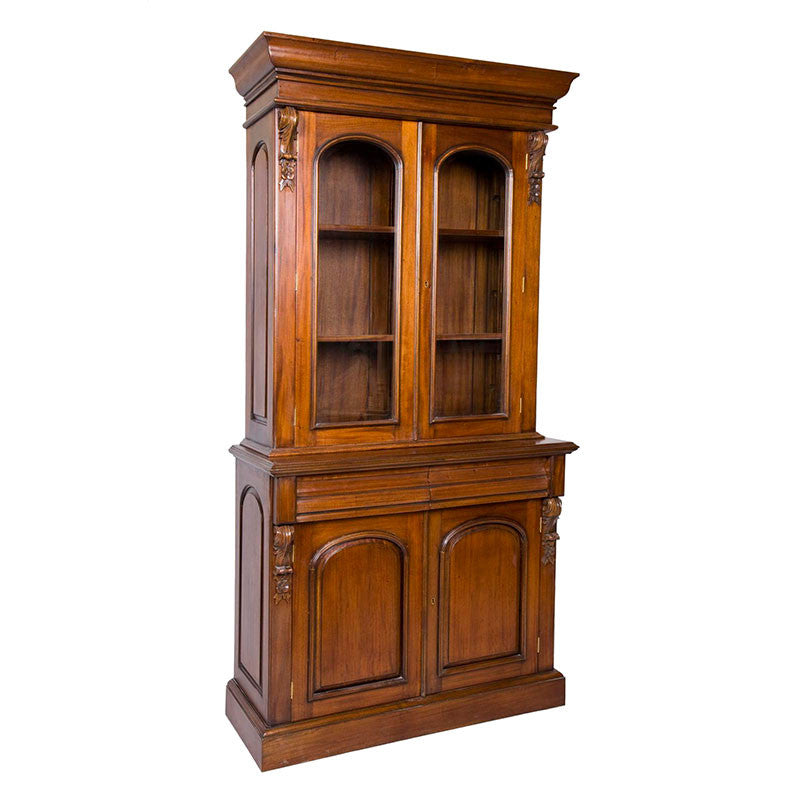 Victorian Bookcase 2 Door