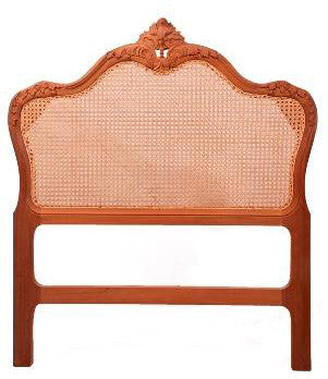 Victorian Bedhead Rattan King Single