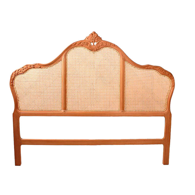 Victorian Bedhead Rattan Double