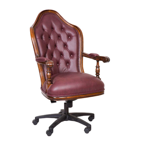 Office Chair Maroon