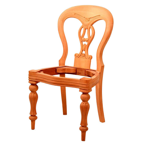 Fiddleback Dining Chair