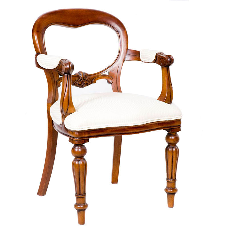 Dutch Dining Chair with Arms