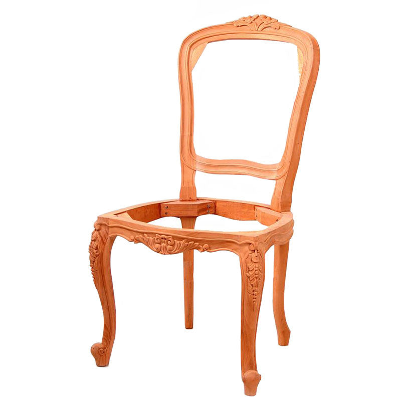 Lily Carved Cabriole Leg Dining Chair