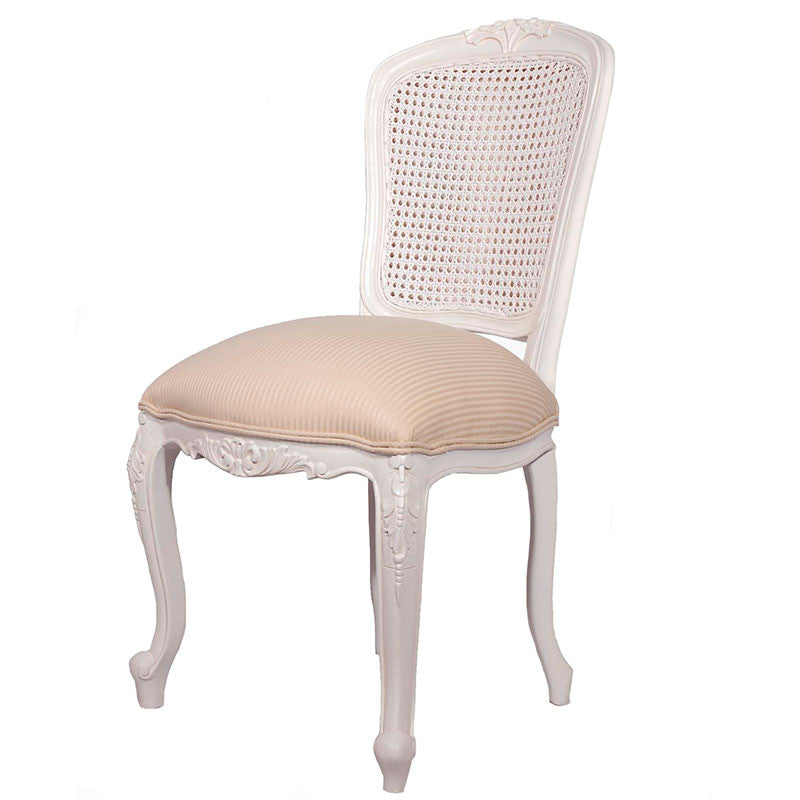 Lily Double Rattan Back Dining Chair