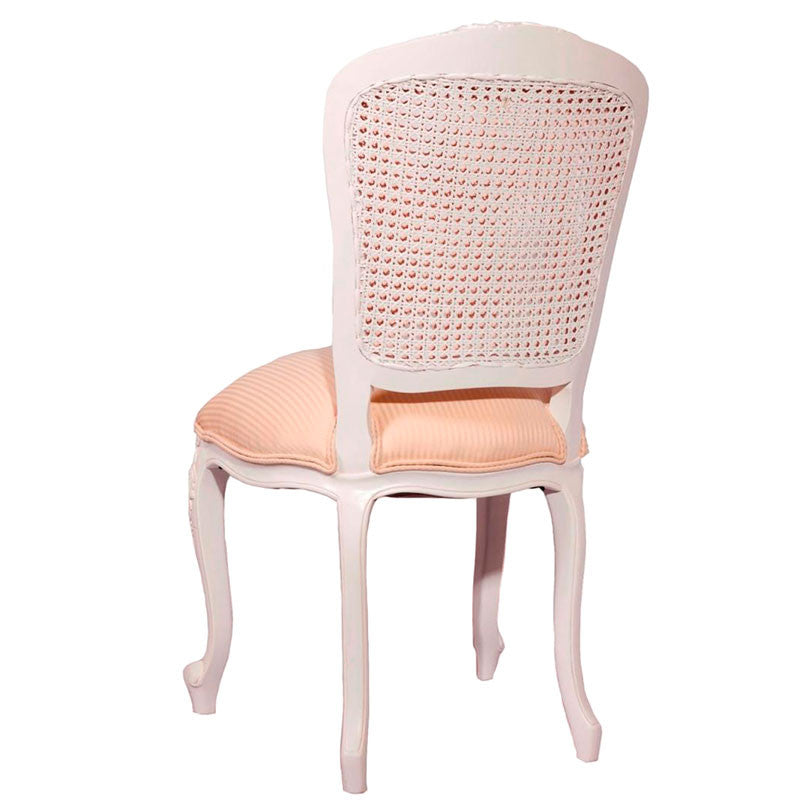 Lily Double Rattan Back Dining Chair Back