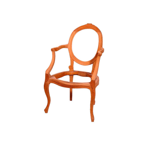 Lily Rose Dining Chair with Arm Chair Unpainted