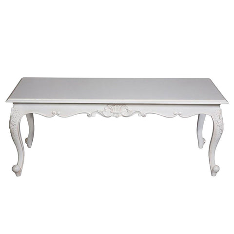 Rectangular Cabriole Leg Coffee Table
