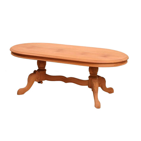 Twin Base Oval coffee Table