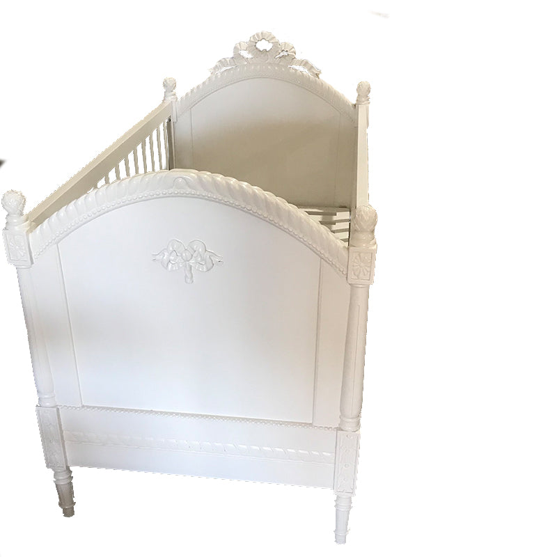 French Provincial Ornate Cot