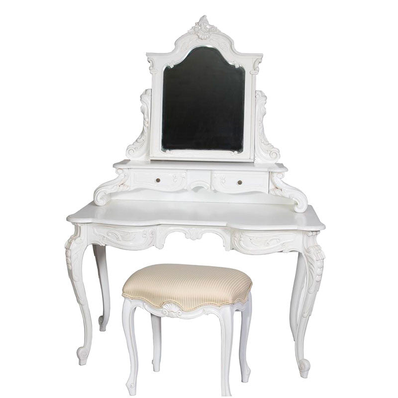 Roxanne Dressing Table with Stool