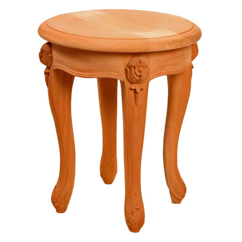 Rose Footstool Unpainted
