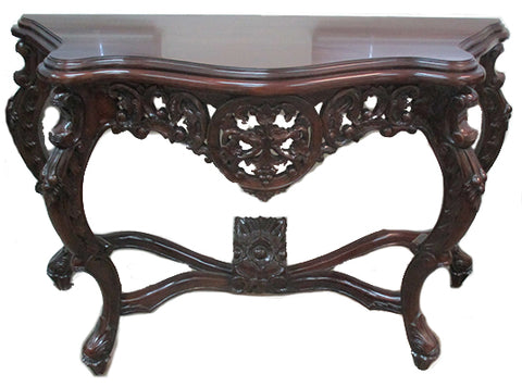 Polished Grape Console Table