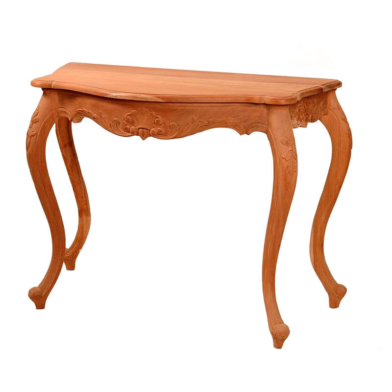 Hall Table with 4 Cabriole Legs