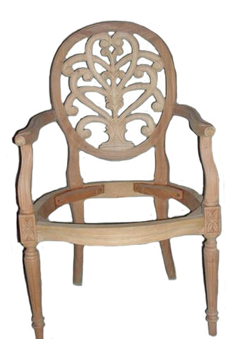 Honeysuckle Arm Dining Chair