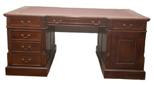 Partner Desk Large - Double Sided Desk and Drawers