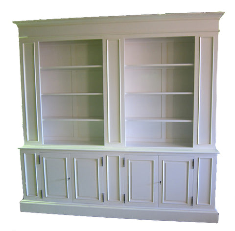 Open Bookcase with 4 door
