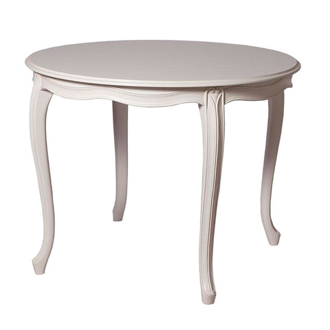 Plain Leg Dining Table - Round