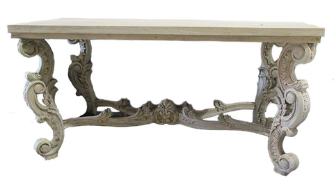 French Rustic Console Table
