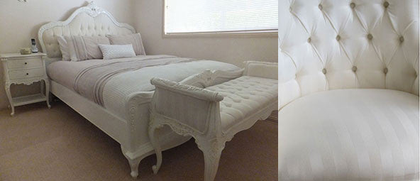 White on White Upholstery