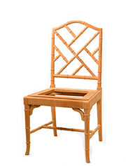 Bamboo Arm Dining Chair