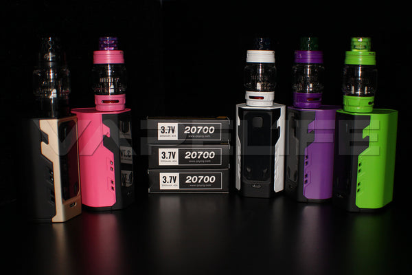 iJoy Captain X3 324W Triple 20700 Full Kit-VapeL1FE