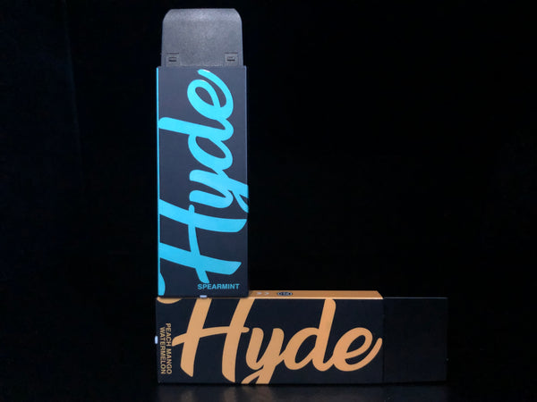 Hyde Original Disposable (Black with Cap)-VapeL1FE