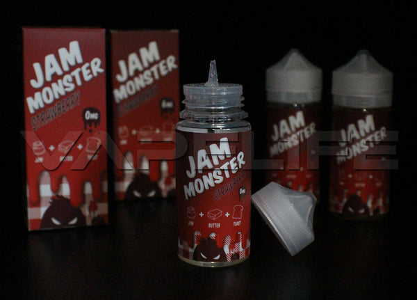 Jam Monster Strawberry-VapeL1FE