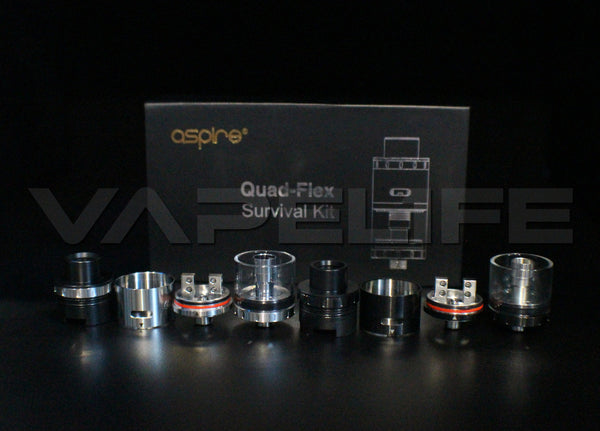 Aspire Quad Flex Survival Kit-VapeL1FE