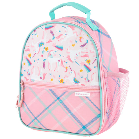 Kids Pink Unicorn Lunch Box All Over Print - Stephen Joseph