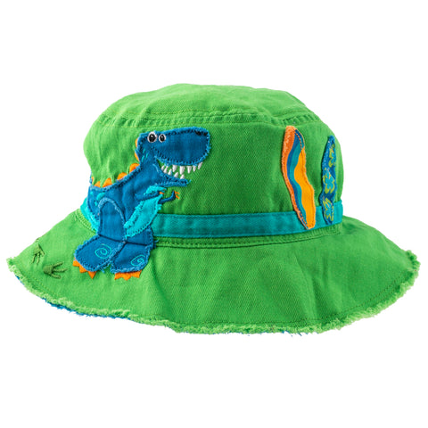 Kids Bucket Hat - Dino - Stephen Joseph
