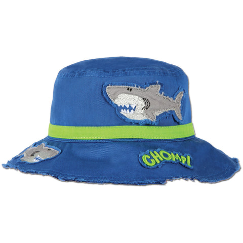 Kids Bucket Hat - Shark - Stephen Joseph