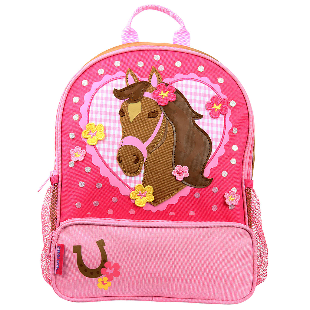 Stephen Joseph Kids Western Horse Girl Sidekick Backpack