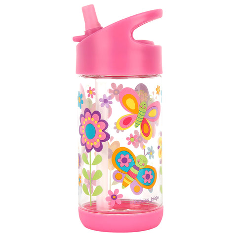 Stephen Joseph Kids Butterfly Flip Top Drink Bottle