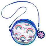 Kids Crossbody Purse Rainbow Clear - Stephen Joseph