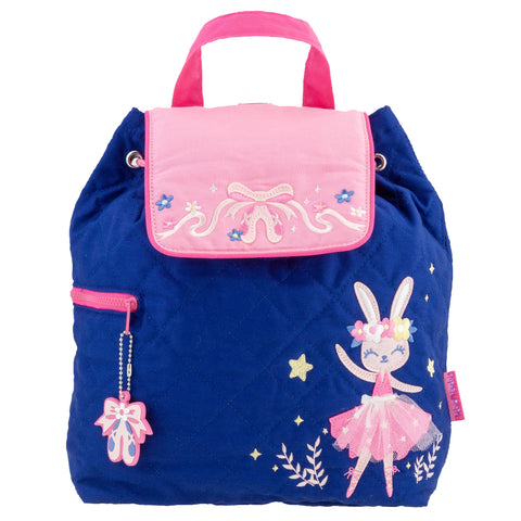 Toddler Backpack Bunny Quilted - Stephen Joseph