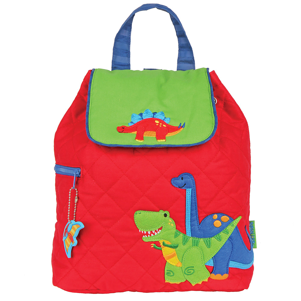 Toddler Backpack Dino Quilted - Stephen Joseph