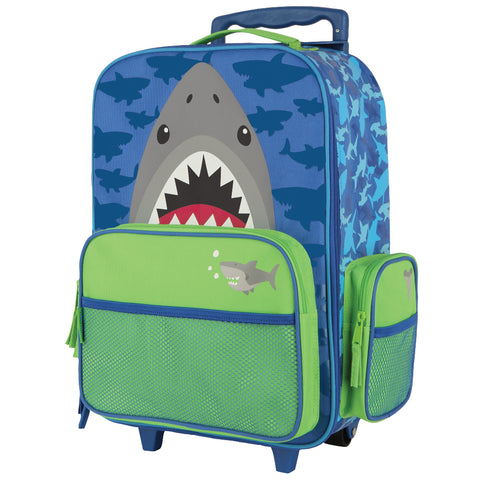 Stephen Joseph Kids Shark Rolling Luggage